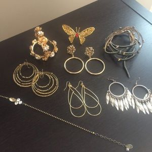 Express Jewelry Bundle! Most Worn Just Once.